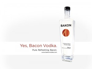 Bakon Vodka: the ideal morning after tipple?