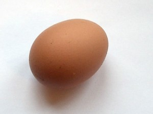 An egg: baffling to many people, apparently