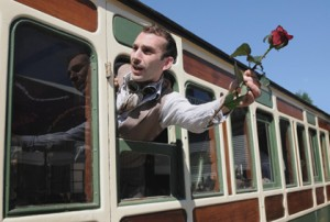 All aboard the Hendrick's express