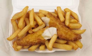 Fish and chips: food of the gods