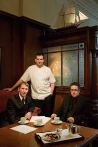Ryan James, David Monaghan and Des Mullan of Two Fat Ladies