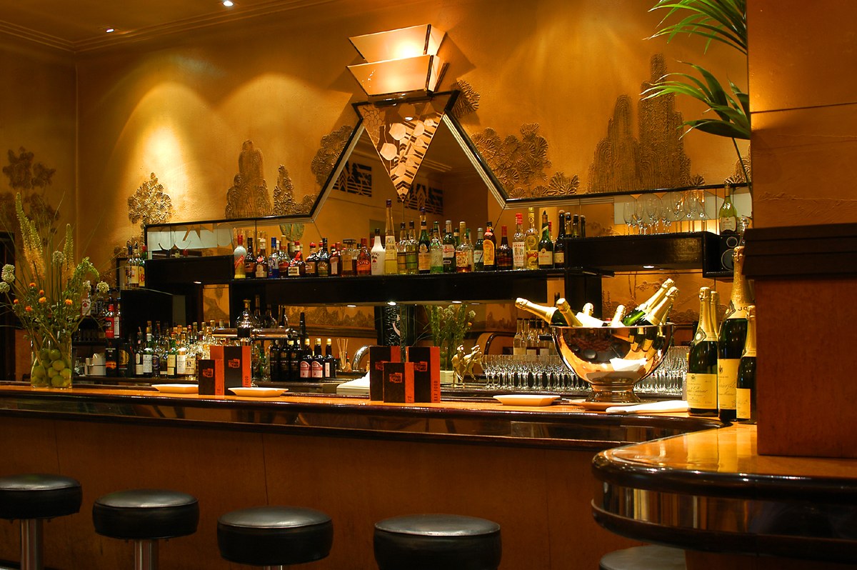 Rogano's Art Deco bar