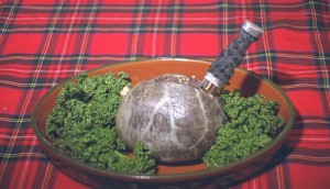 Haggis: there's a lot of it about