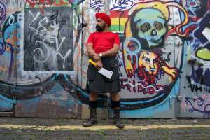 Tony Singh promises to get down and dirty on his forthcoming road trip