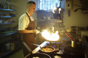 Gordon Craig is firing up the kitchen at Field
