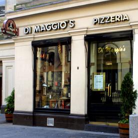 Di Maggio's city centre: popular, family-oriented Italian
