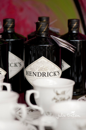 Hendrick's Gin; an ideal mid-afternoon pick-me-up