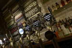It's all about the ale at Munro's. and the burgers. and the chilli dogs. And the pizza.