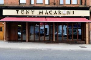 Tony Macaroni in Glasgow's West End: proving popular in Edinburgh