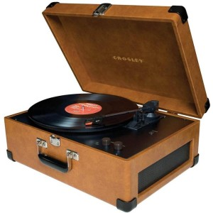 For the benefit of younger readers, this is a record player. Lovely, isn't it?