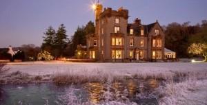 The Isle of Eriska Hotel looks good in all seasons