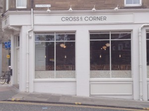 The Cross and Corner bar has opened for business in Canonmills