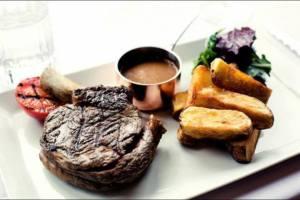 Steak is on the menu at Twenty Princes Street