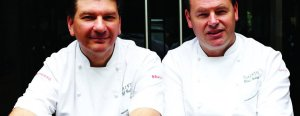 Jeff and Chris Galvin: Michelin-starred chefs
