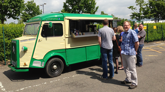 Hervè the food truck is at the heart of Loving Food