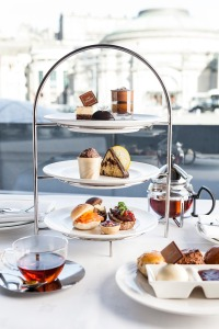Chocolate lovers will swoon over One Square's themed afternoon tea