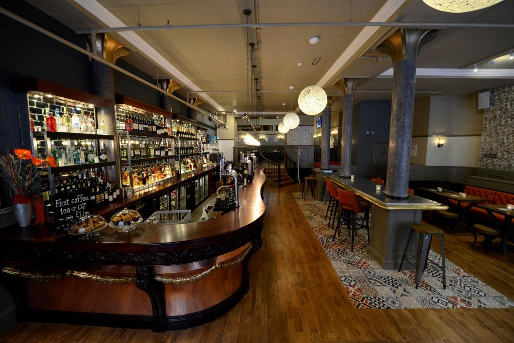 The bar at the recently launched Hope on Waterloo Street