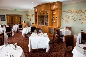 The new dining room at Two Fat Ladies in the Marine Hotel, Troon
