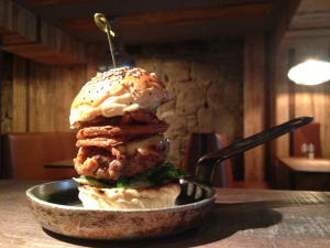 The Meat Bar Burger: meat, burgers and bars pretty much sums up Glasgow's dominant restaurant trends in 2013.