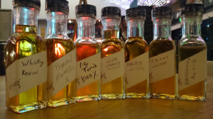 Our final blended whiskies