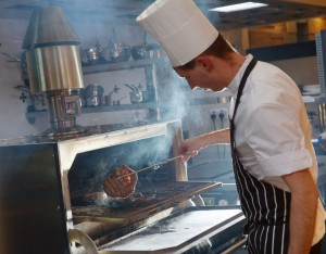 The Josper in action at IX in The Chester Hotel.