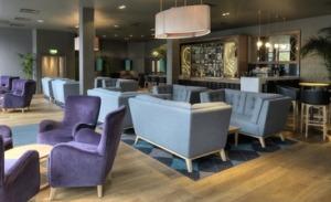 The new Monboddo bar at DoubleTree by Hilton Edinburgh City Centre.
