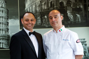 The Russo brothers recently opened Volare in Newton Mearns.