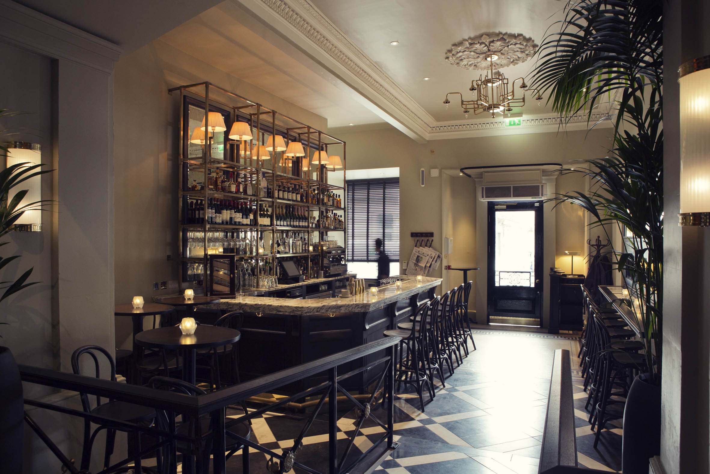 The Cafe Bar is part of the stunning Hutchesons refurbishment..