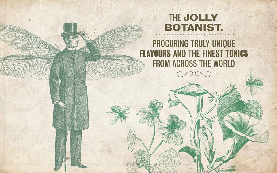 The Jolly Botanist: raises a smile through the medium of gin.