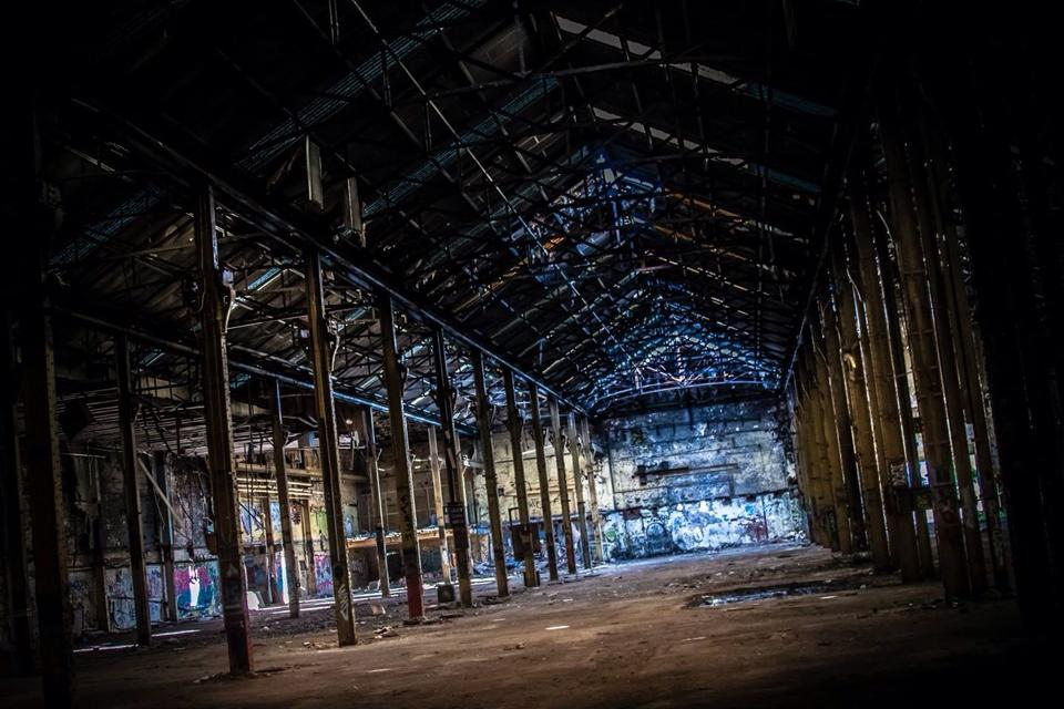 Recognise this? Could it be the Southside venue for the pop-up? It's on the Section 33 Facebook page. Hmmm...