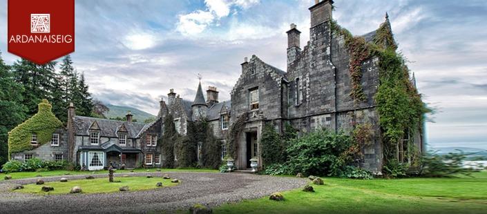 Ardanaiseig hotel: Cailleach Bheithir not pictured.