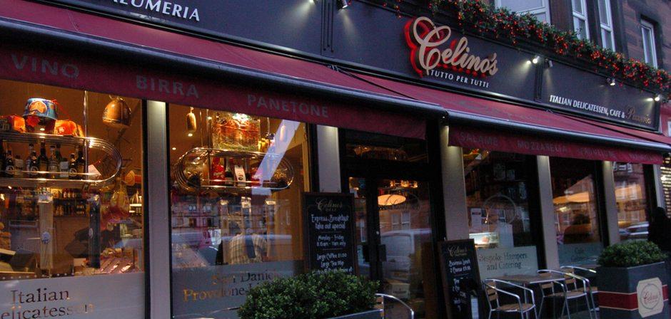 Celino's: multiple winner at the Scottish Italian Awards.
