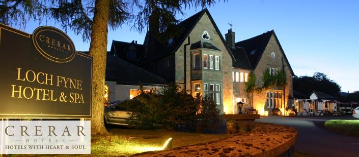 Loch Fyne Hotel & Spa: helped win WWII.