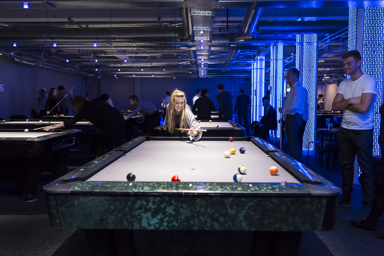 MArco's Pool Hall and Pizza Bar: aims to bring pool into the 21st century.