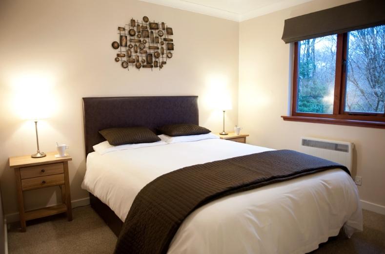 Birchbrae Lodges bedroom