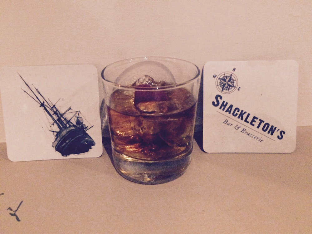 Shackleton's Bar opening