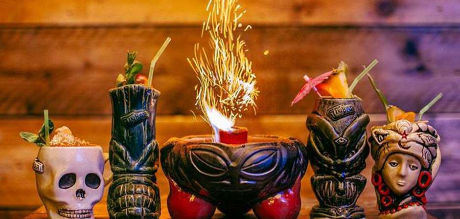 Tiki cocktails made The Pacific sparkle.