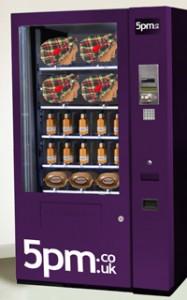 The Taste O'Tartan vending machines never really caught on.