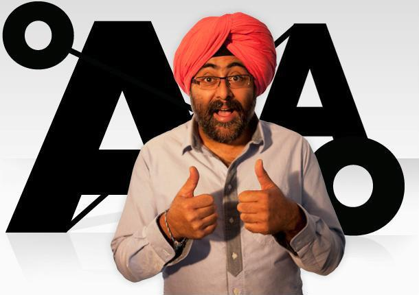 Hardeep Singh Kohli is looking foward to cooking up a storm in Leith.