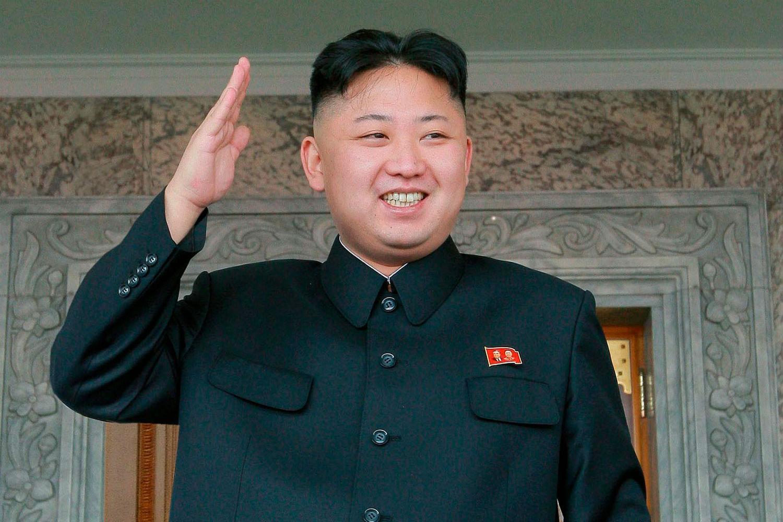 'Hi, I'm Kim Jong-Un and I'll be your waitperson today'.