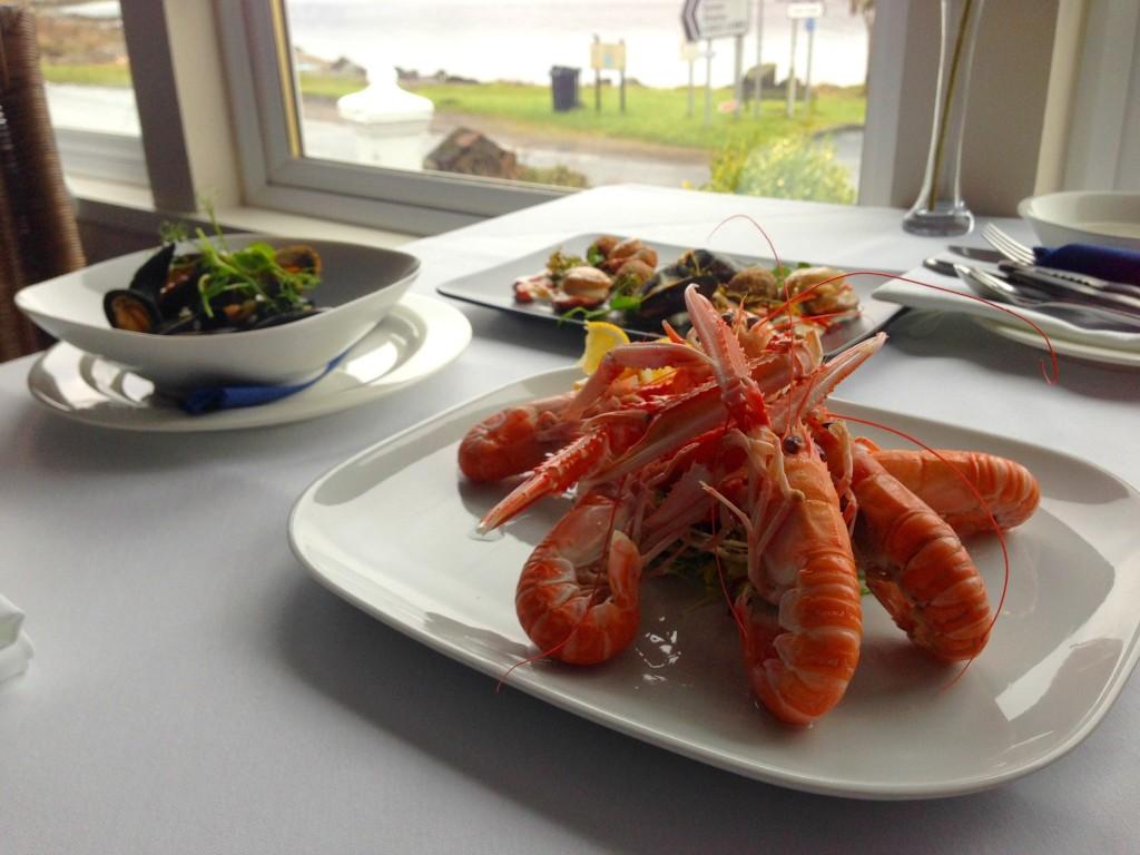 Royal An Lochan seafood