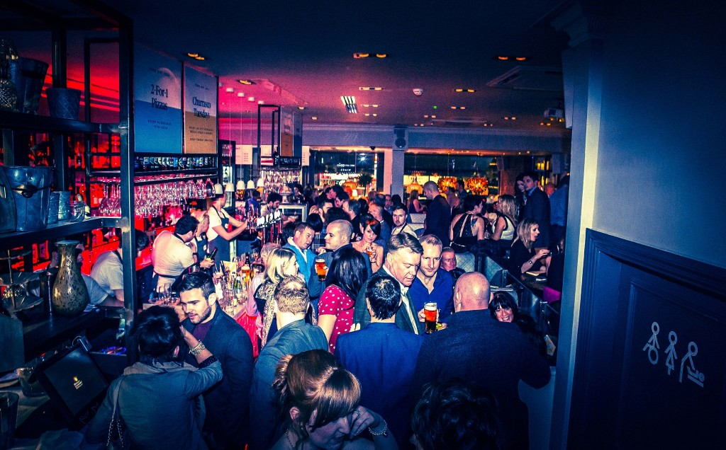 The opening party at Lido in Prestwick was jumping. Pic by Danny Paton Photography.