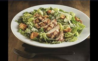 Chicken Caesar salad from Hard Rock Cafe