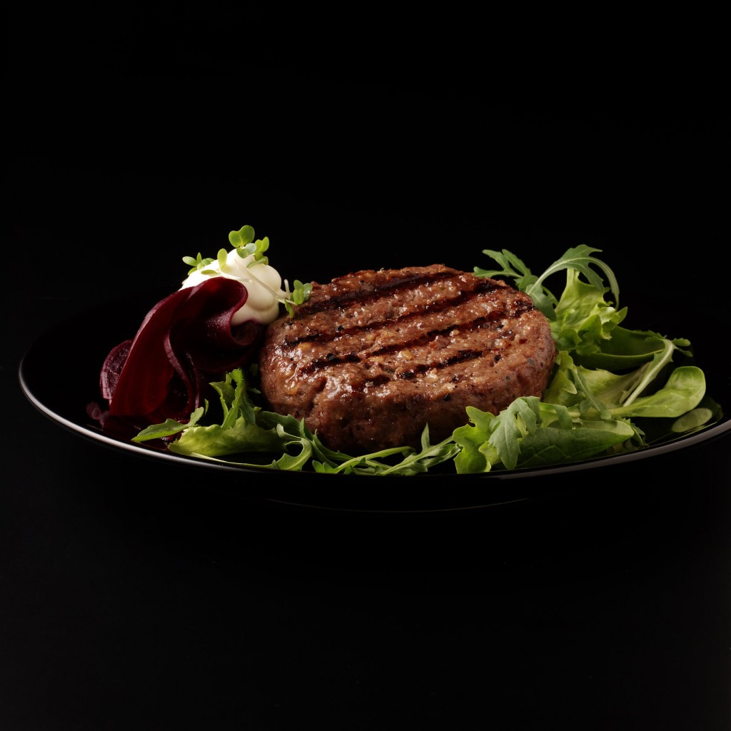 Macsween's British beef and haggis burger.