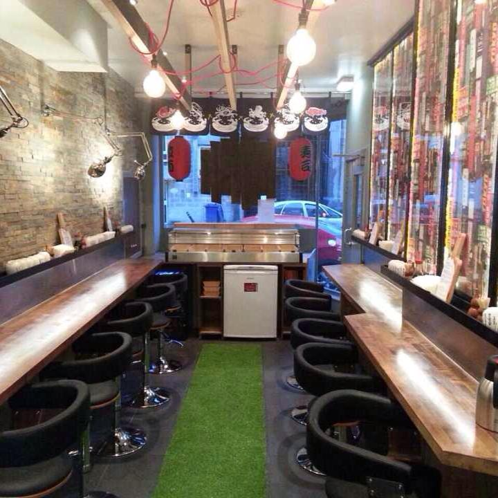 Inside Maki and Ramen Sushi Bar. Pic via Facebook.