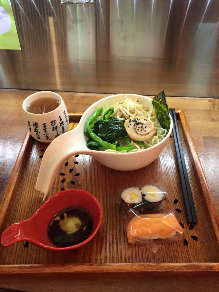 Maki and Ramen Sushi Bar: does what it says on the tin. Pic via Facebook.