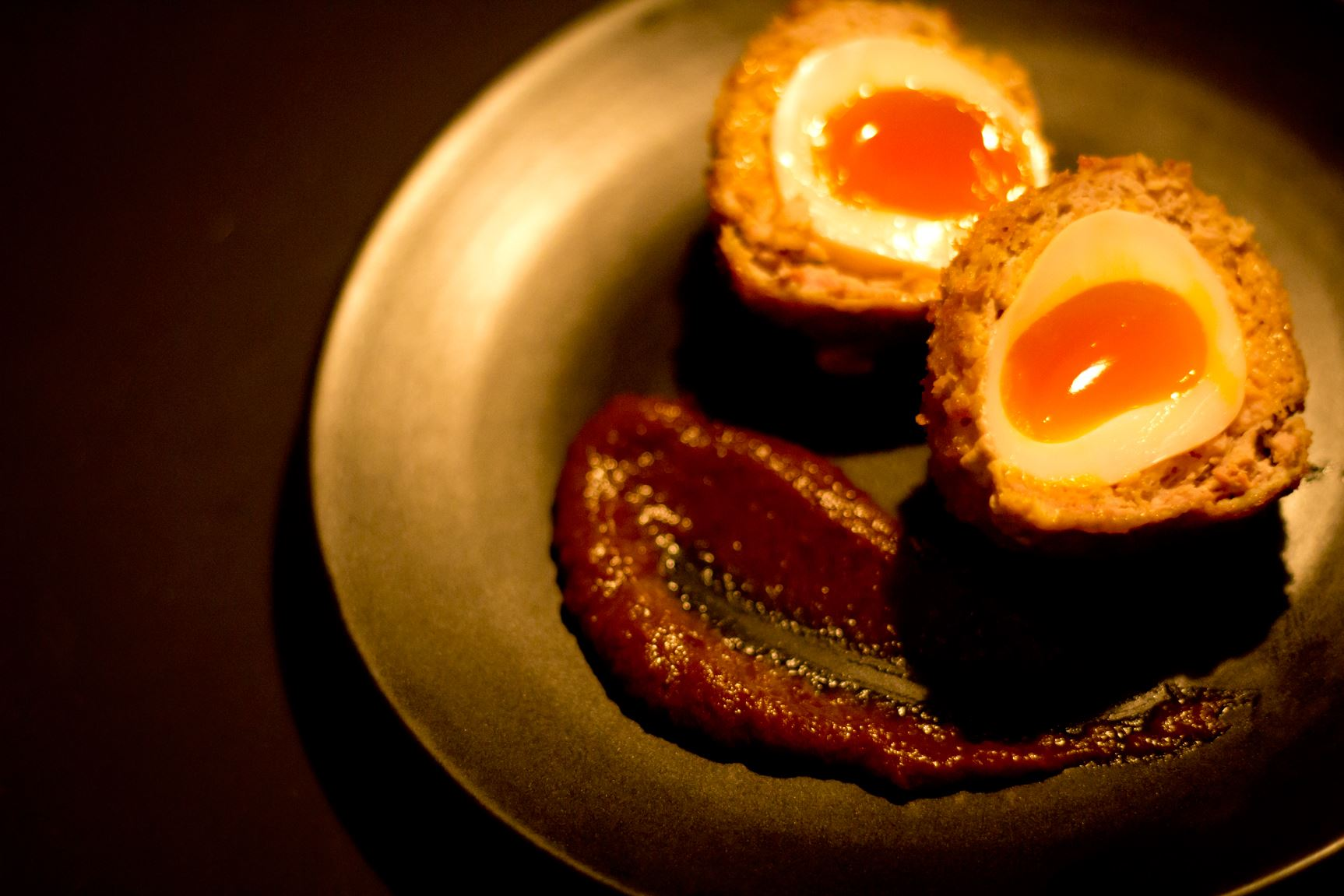 The Slighhouse Scotch egg. Eat your heart out Ginsters.