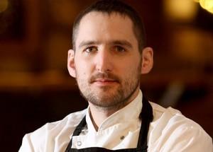 Head Chef Scott Davies: on the move.