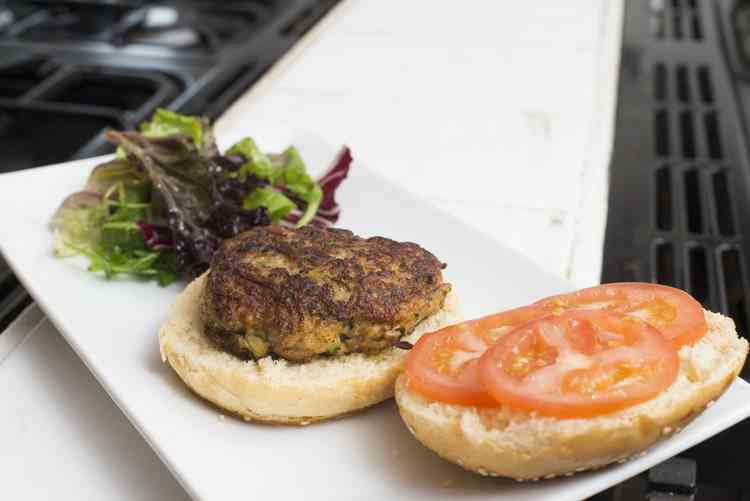 Lamb burgers: 20 minutes tops. Pic Alan Richardson Dundee, Pix-AR.co.uk