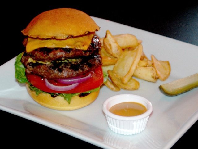 The beef in Belted's burgers comes from the family farm in Dumfries and Galloway.